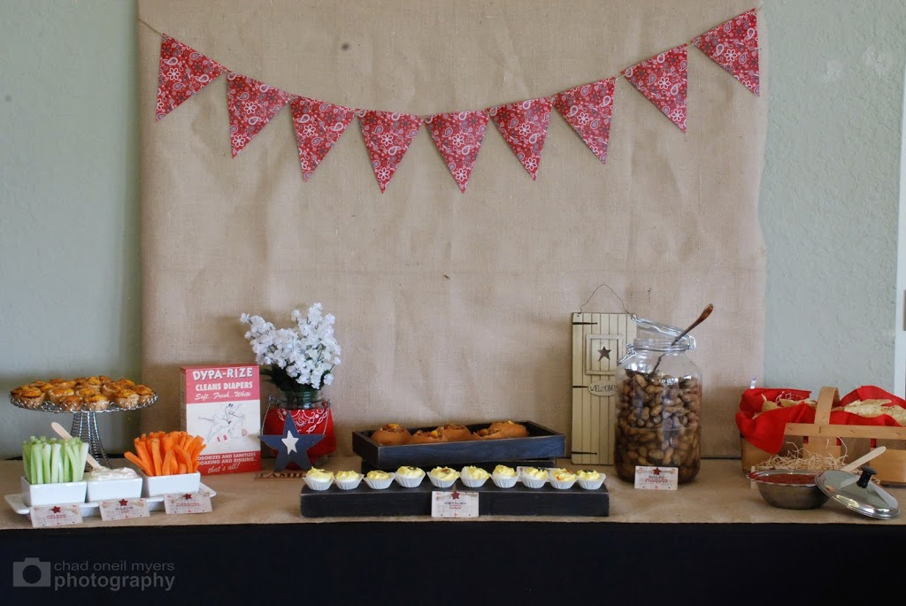 country theme baby shower revealed brave creative design