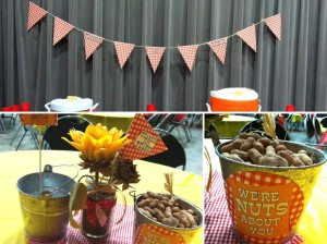Customer Party photos + BBQ Printables