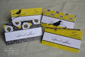 Customer Photos: Yellow & Gray Bird Baby Shower