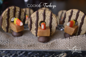 Cookie Turkey Tutorial for Thanksgiving Treat!