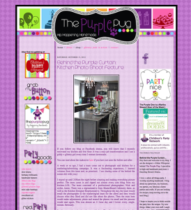 Blog Design – the Purple Pug
