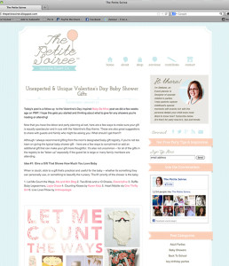 Blogger Custom Design: The Petite Soiree