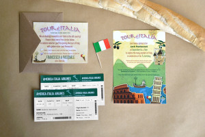 Tour of Italy – 7th Birthday Party