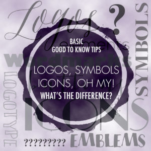 Logos, Symbols and Icons, oh my!